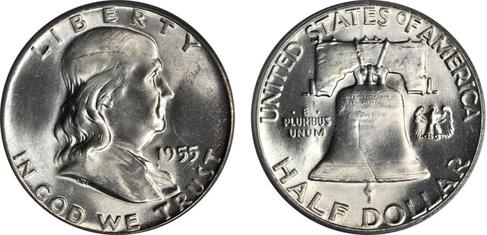 Franklin half dollar. (Photo courtesy of Stack's Bowers Galleries)