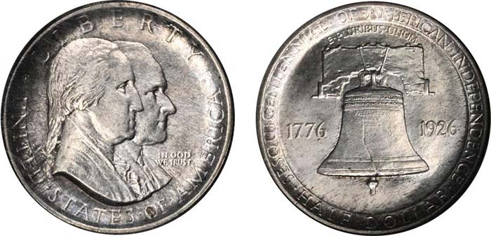 1926 Sesquicentennial of American Independence half dollar. (Photo courtesy of Stack's Bowers Galleries)