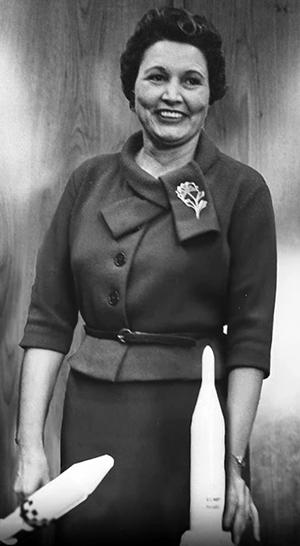 Mary Golda Ross.
