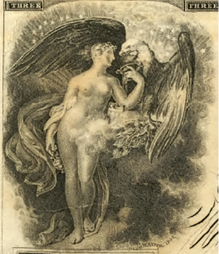 """This was not the sort of thing you would show to your mother—or your daughter, or your wife."" Although Doty doesn't mention it, the position of the eagle's wings gives the scene a creepy similarity to the story of Leda and the Swan."