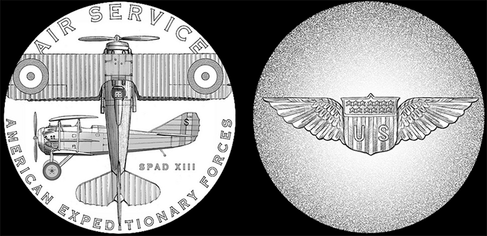 WWI-2018-silver-medals-Air-Service