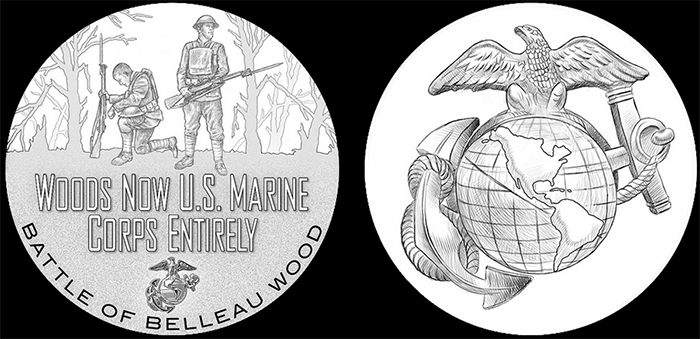 WWI-2018-silver-medals-Marines