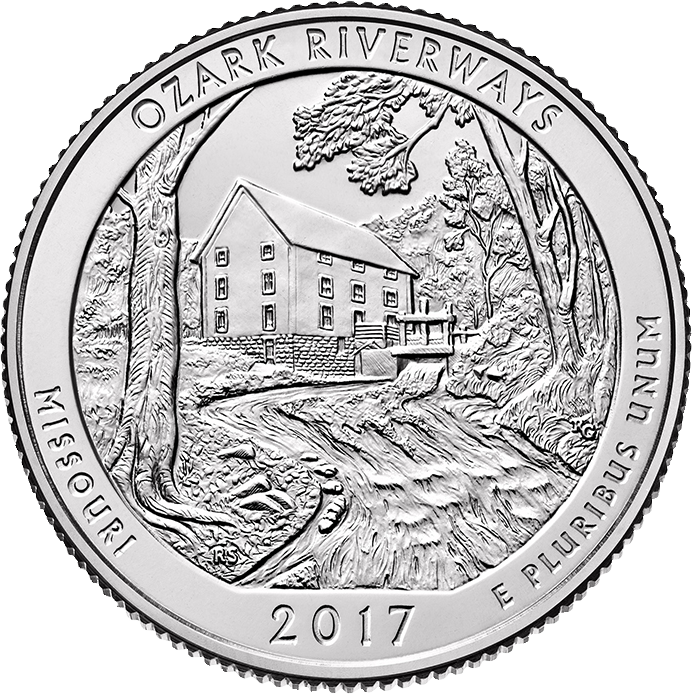 2017-america-the-beautiful-quarters-coin-ozark-riverways-missouri-uncirculated-reverse
