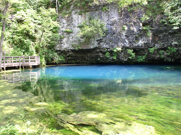 Blue Spring. (National Park Service photo)