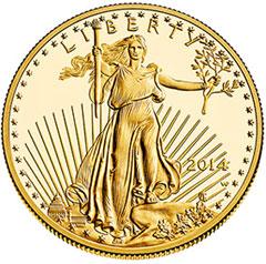 2014 w gold Kennedy half dollar PCGS PR 69 DCAM *