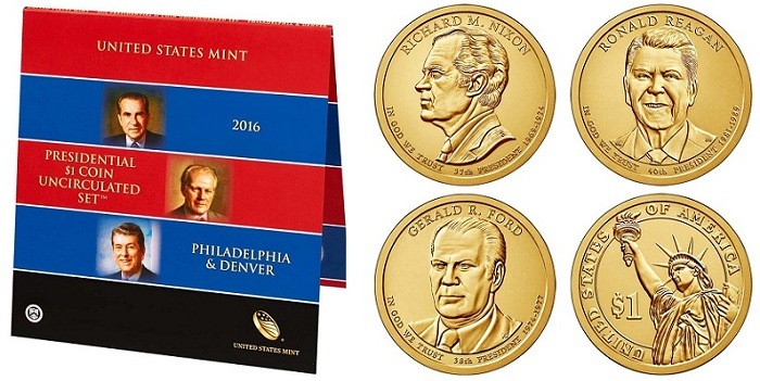 2016 U.S Mint Uncirculated Set