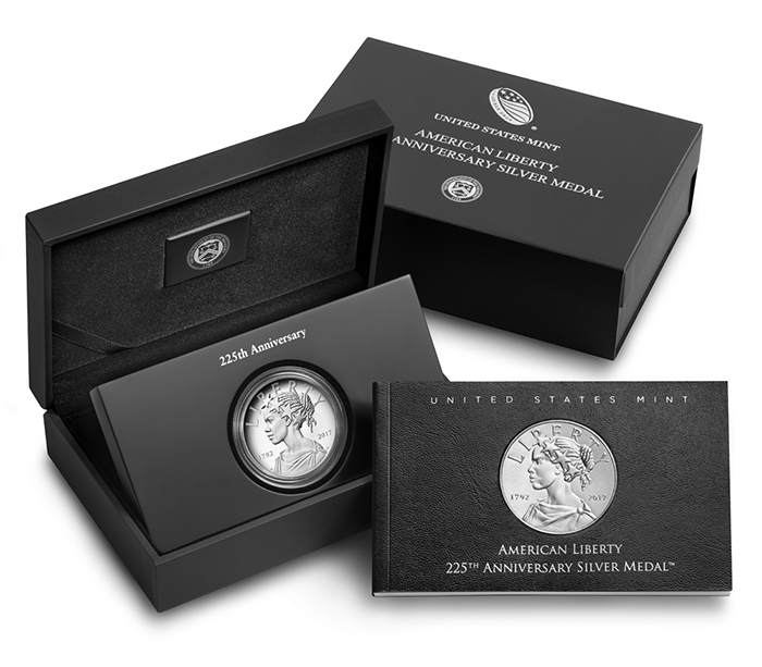 2017-P American Liberty silver medal out-sells 2016 edition